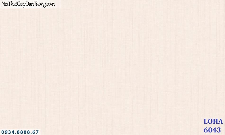 LOHA | Giấy dán tường gân trơn màu hồng, giấy gân sọc nhỏ, sọc điểm | Giấy dán tường Hàn Quốc Loha 6043