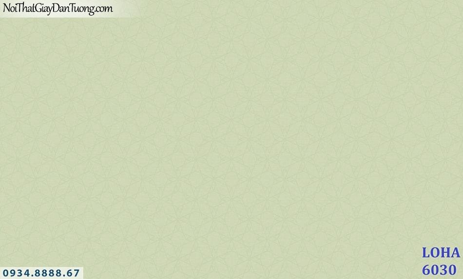 LOHA | Giấy dán tường hoa văn chìm màu xanh lá cây, màu càng chanh, màu nõn chuối | Giấy dán tường Hàn Quốc Loha 6030
