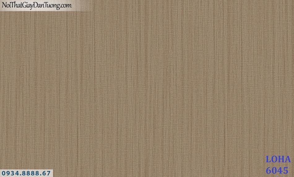 LOHA | Giấy dán tường màu vàng đồng, giấy gân trơn, kẻ sọc nhỏ ngắn đứt đoạn | Giấy dán tường Hàn Quốc Loha 6045