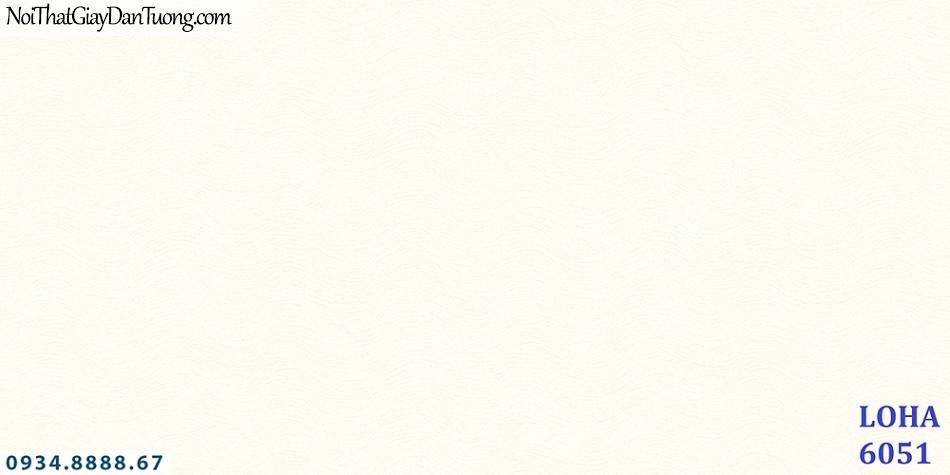 LOHA Hàn Quốc | Giấy dán tường dạng sóng màu trắng, giấy màu trắng sóng lượng ngang| Giấy dán tường Loha 6051