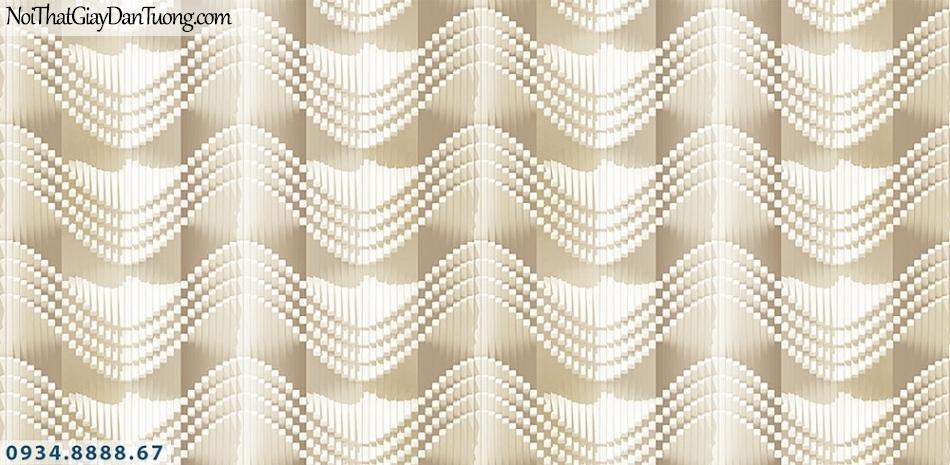Assemble | Giấy dán tường 3D dạng sóng, sóng biển, sóng mái ngói, sóng lượn| Giấy dán tường Assemble 40115-1