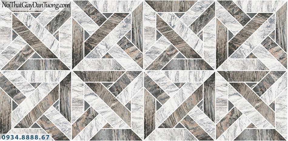 Assemble | Giấy dán tường 3D màu xám | Giấy dán tường Hàn Quốc 40118-3