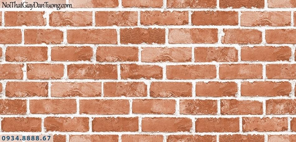 Assemble | Giấy dán tường Giả gạch 3D, giấy dán tường giả gạch màu đỏ| Giấy dán tường Assemble 40049-5