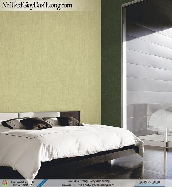 ARTBOOK | Giấy dán tường dạng gân đơn giản một màu, sự kết hợp của màu xanh ngọc và màu vàng | Giấy dán tường Hàn Quốc Artbook 57178-4 - 57178-5