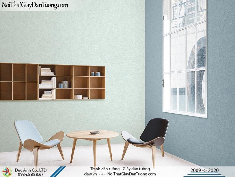 ARTBOOK | giấy dán tường dạng gân, gân trơn 1 màu, màu xanh đậm phối với màu xanh nhạt | Giấy dán tường Hàn Quốc Artbook 57174-6 - 57174-8