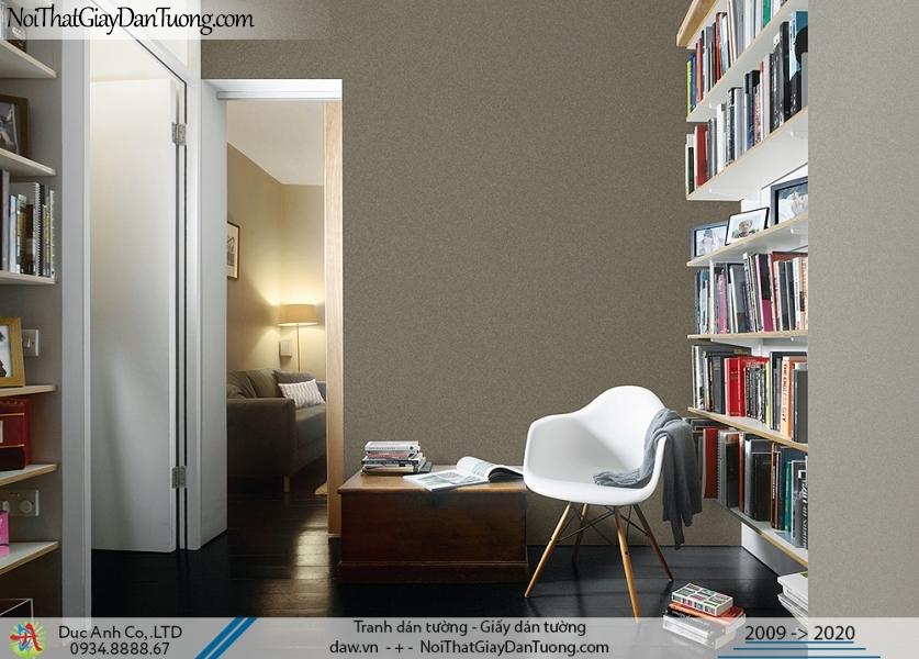 ARTBOOK | Giấy dán tường gân trơn đơn sắc màu nâu, vàng sẫm | Giấy dán tường Hàn Quốc Artbook 57180-4 - 57180-5