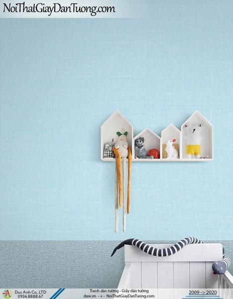 ARTBOOK | Giấy dán tường màu xanh dương, giấy trơn 1 màu hiện đại | Giấy dán tường Hàn Quốc Artbook 57175-4 - 57174-8