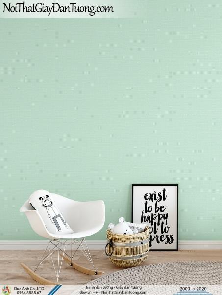 ARTBOOK | Giấy dán tường màu xanh ngọc, giấy trơn một màu, dùng cho căn hộ hiện đại | Giấy dán tường Hàn Quốc Artbook 57175-3