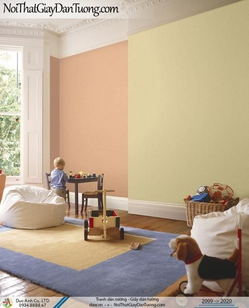 ARTBOOK | Giấy dán tường trơn, giấy gân màu vàng kết hợp màu vàng cam | Giấy dán tường Hàn Quốc Artbook 57186-4 - 57160-23