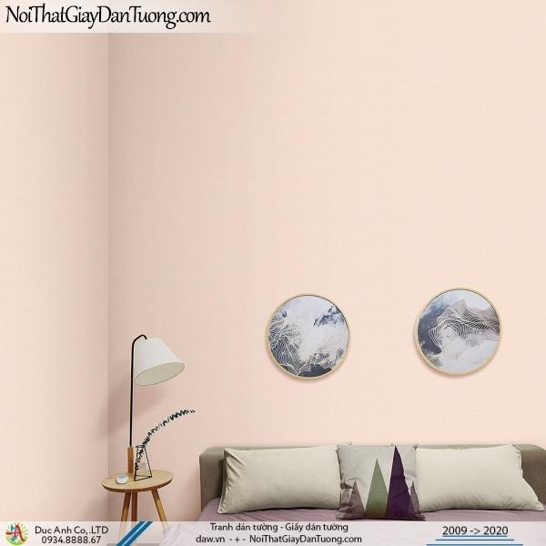 ARTBOOK | Giấy dán tường trơn màu hồng, màu vàng cam nhạt | Giấy dán tường Hàn Quốc Artbook 57186-3