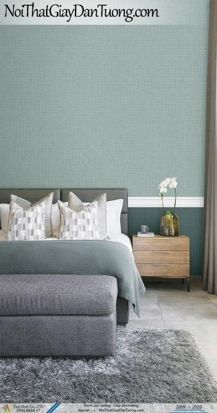 ARTBOOK | Giấy dán tường trơn màu xanh, xanh ngọc, xanh nhạt | Giấy dán tường Hàn Quốc Artbook 57185-8 - 57185-9