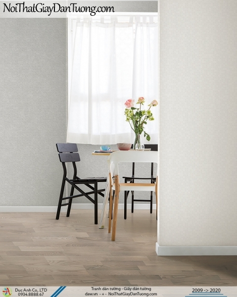 ARTBOOK | Giấy dán tường trơn một màu, giấy dạng gân, cho không gian thoáng đãng nhẹ nhàng | Giấy dán tường Hàn Quốc Artbook 57177-2 - 57177-3