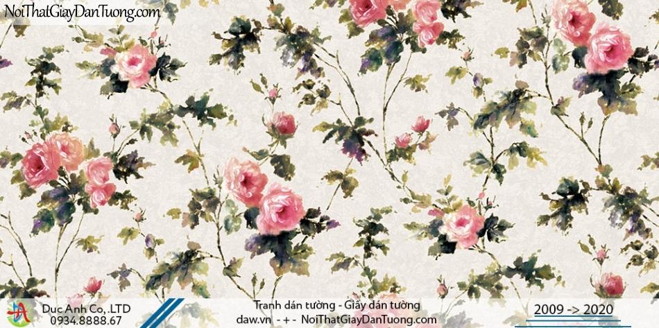 Art Deco | Giấy dán tường cành hoa, hoa dây leo tường | Giấy dán tường Hàn Quốc Art Deco 8263-2