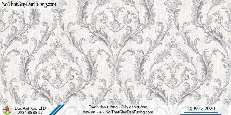Art Deco | Giấy dán tường hoa to, họa tiết lớn cổ điển | Giấy dán tường Hàn Quốc Art Deco 8264-1