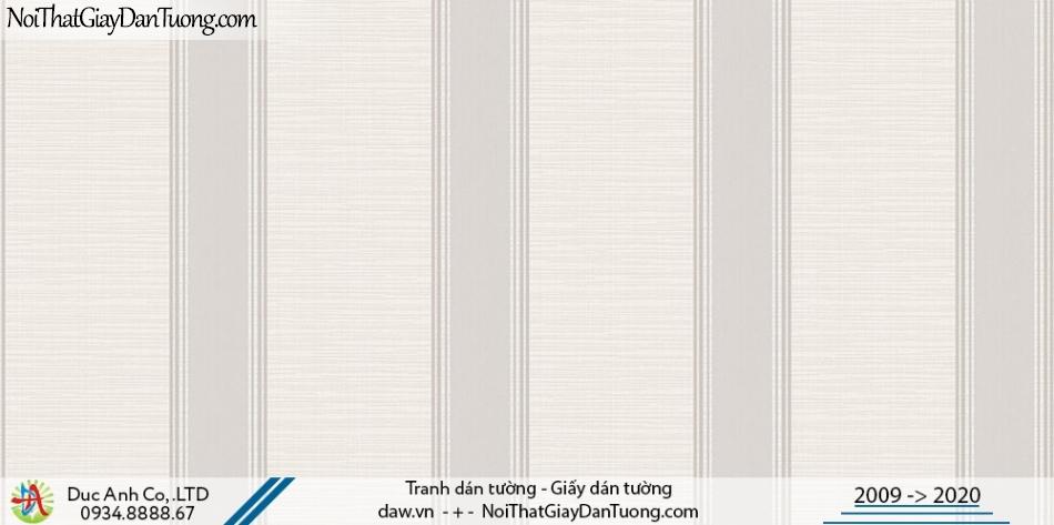Art Deco | Giấy dán tường kẻ sọc, giấy dạng sọc màu xám | Giấy dán tường Hàn Quốc Art Deco 8261-1