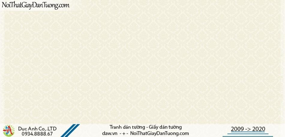 CASSIA | Giấy dán tường cổ điển, phong cách Châu Âu màu vàng kem | Giấy dán tường Cassia 8653-1