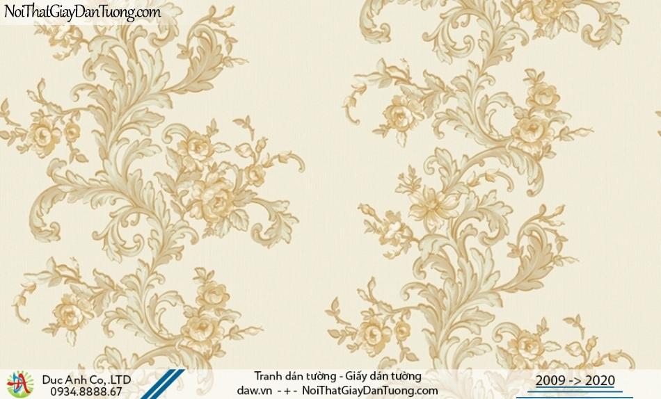 CASSIA | Giấy dán tường hoa leo tường màu vàng | Giấy dán tường Cassia 8656-2