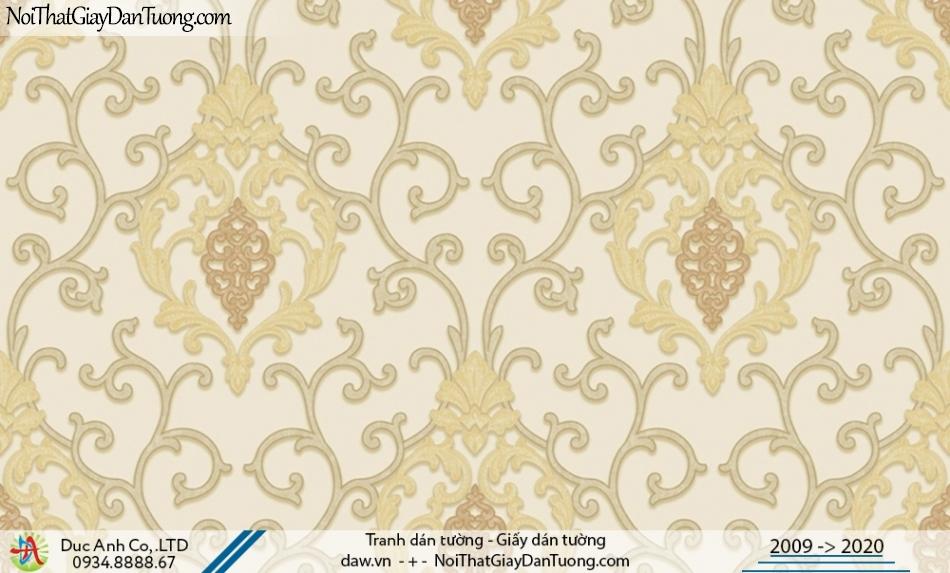 CASSIA | Giấy dán tường cổ điển đẹp, sáng trọng phong cách Châu Âu | Giấy dán tường Cassia 8667-1