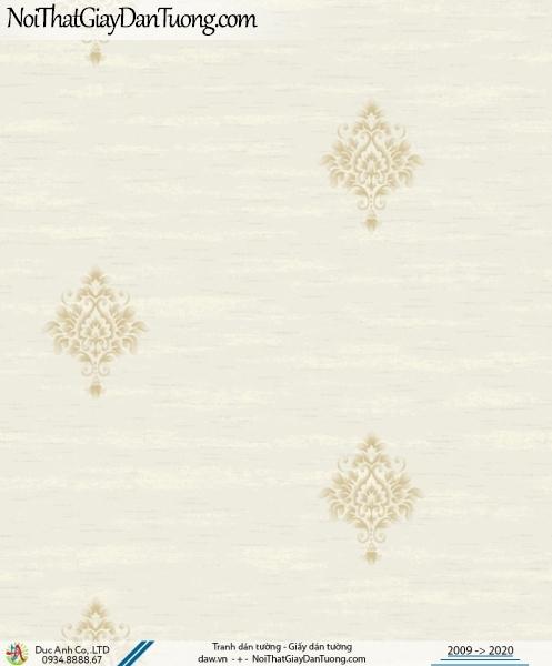 CASSIA | giấy dán tường cổ điển màu kem nhẹ nhàng sang trọng | Giấy dán tường Cassia 8702-1