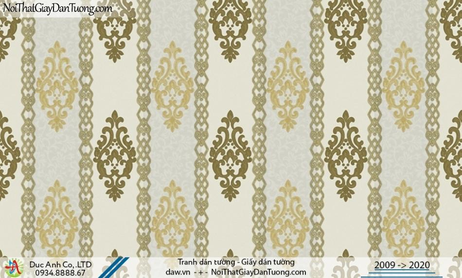CASSIA | giấy dán tường điểm nhấn màu vàng, phòng ngủ phòng khách| Giấy dán tường Cassia 8668-3