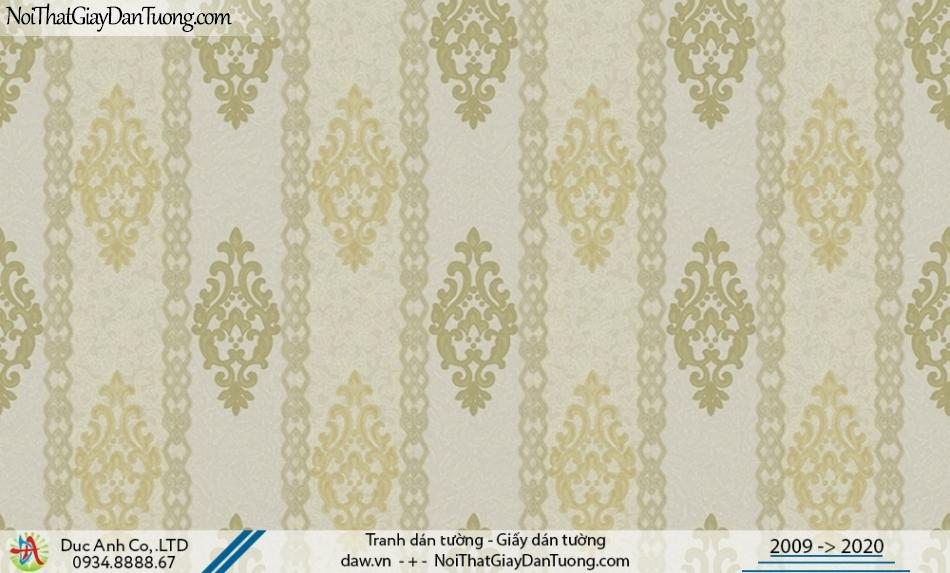 CASSIA | giấy dán tường điểm nhấn phòng khách đẹp, giấy sọc hoa văn | Giấy dán tường Cassia 8668-2
