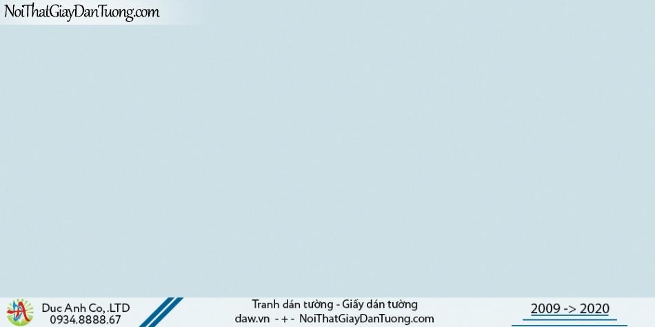 CASSIA | giấy dán tường màu xanh lam, xanh lơ, giấy gân trơn láng mịn | Giấy dán tường Cassia 8673-4