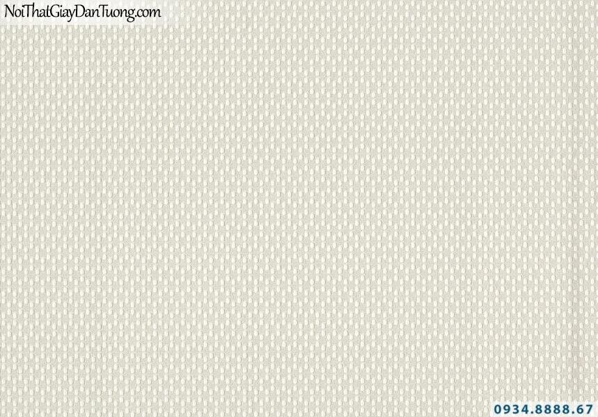 Giấy dán tường Lucky 2633 | giấy dán tường chấm bi, màu xám vàng