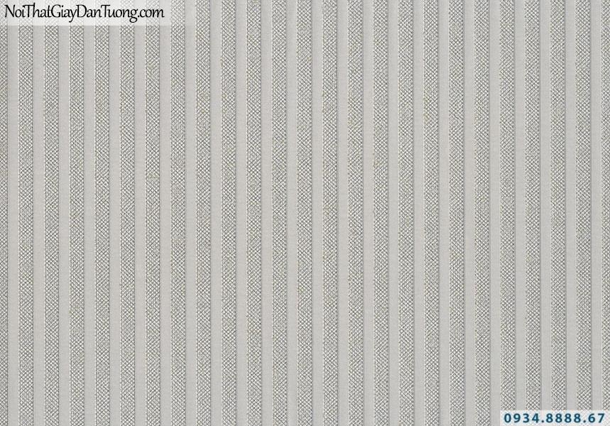 Giấy dán tường Lucky 2642 | giấy dán tường dạng sọc, kẻ sọc thẳng nhỏ