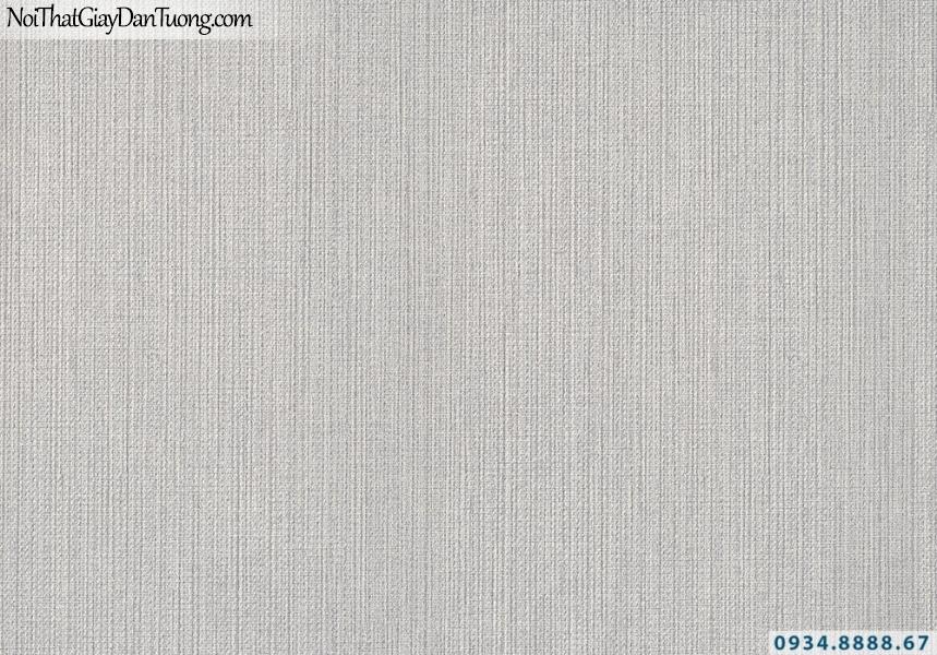 Giấy dán tường sọc nhỏ màu xám, dạng sọc nhuyễn | Giấy dán tường Lucky 2683