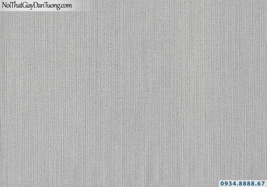 Giấy dán tường sọc nhuyễn màu xám | Giấy dán tường Lucky 2684