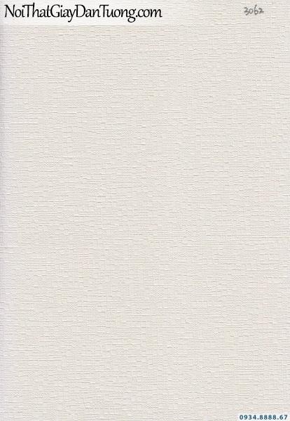 Giấy dán tường dạng gân màu trắng, trắng sữa | Giấy dán tường Lucky 15102