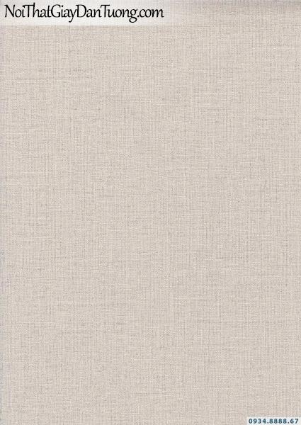 Giấy dán tường dạng gân trơn màu kem | Giấy dán tường Lucky 15172