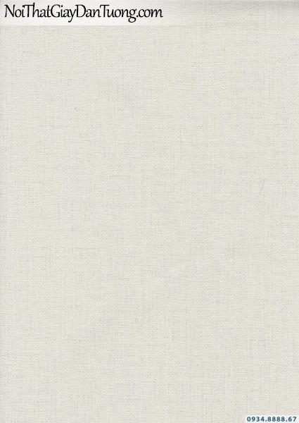 Giấy dán tường dạng trơn gân màu xám nhạt | Giấy dán tường Lucky 15171