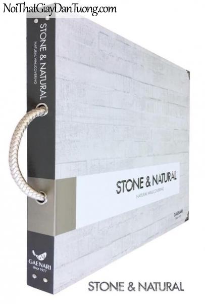 Giấy dán tường giả gạch, giả đá, giả gỗ hướng thiên nhiên STONE & NATURAL