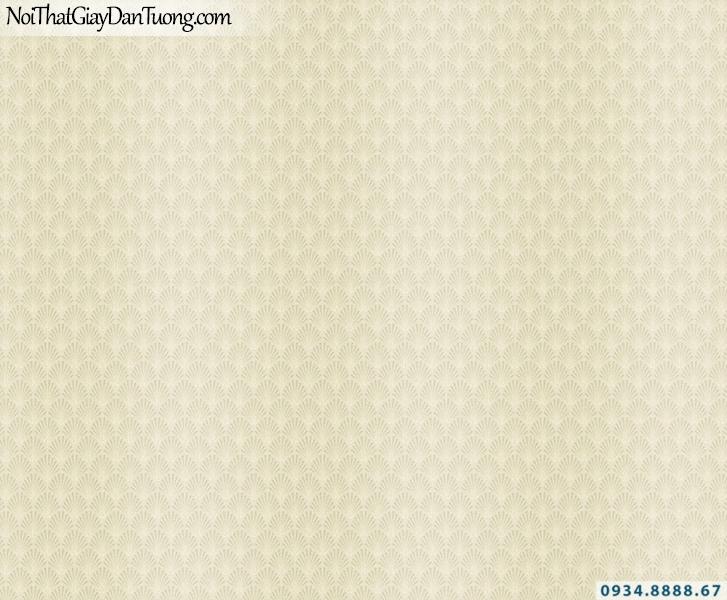 Giấy dán tường hình dạng cánh quạt, màu vàng nhạt | Giấy dán tường Lucky 14011