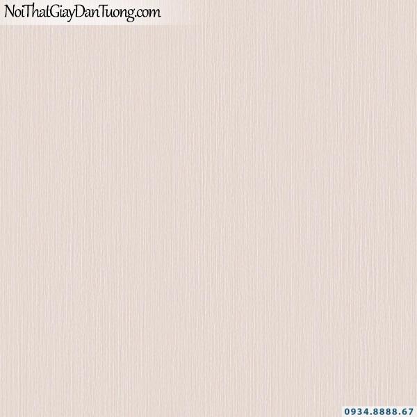 Giấy dán tường vân nhuyễn màu hồng nhạt | Giấy dán tường Lucky 15153