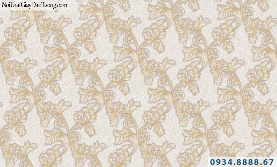 Giấy dán tường GARDA 29036 | giấy dán tường hoa văn cổ điển màu cam