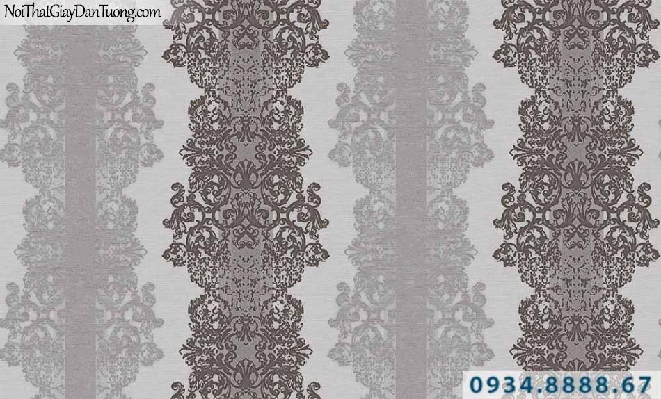 Giấy dán tường GARDA 3011| giấy dán tường họa tiết cổ điển, phong cách Châu Âu