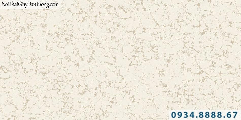 Giấy dán tường GARDA 3039 | giấy dán tường màu vàng kem họa tiết màu xanh lá cây