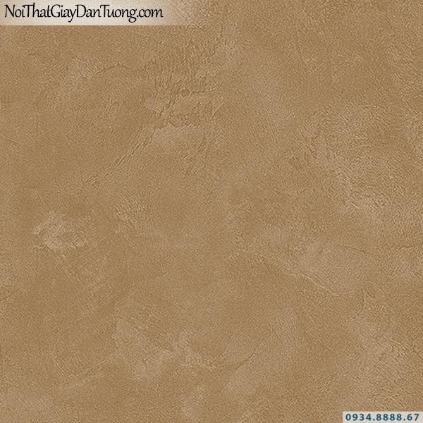 Giấy dán tường giả bê tông màu vàng đồng, vàng đậm | 3D | Hàn Quốc | Stone & Natural 85090-8