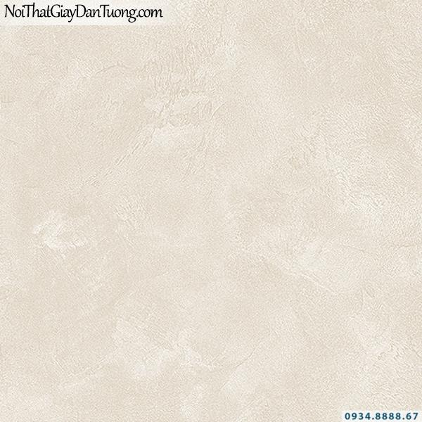 Giấy dán tường giả bê tông màu vàng kem | 3D | Hàn Quốc | Stone & Natural 85090-