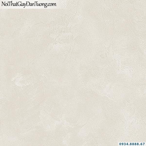 Giấy dán tường giả bê tông màu vàng kem | 3D | Hàn Quốc | Stone & Natural 85090-3