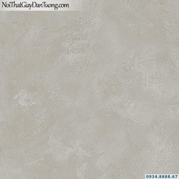 Giấy dán tường giả bê tông màu xám, màu tối | 3D | Hàn Quốc | Stone & Natural 85090-6