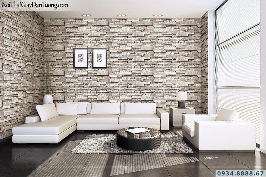 Giấy dán tường giả đá đẹp | 3D | Hàn Quốc | Stone & Natural 85050-3