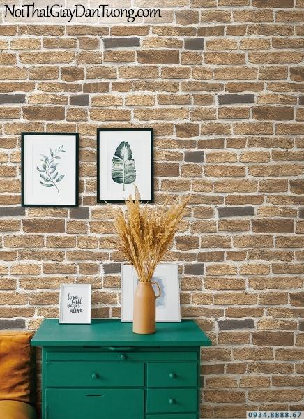 Giấy dán tường giả gạch đẹp | 3D | Hàn Quốc | Stone & Natural 85087-2