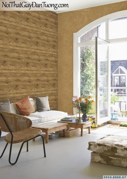 Giấy dán tường giả gỗ 2020 | 3D | Hàn Quốc | Stone & Natural 85084-3 - 85090-8