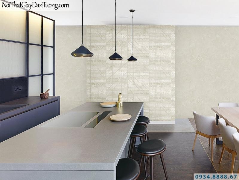 Giấy dán tường giả gỗ đi nẹp vàng màu vàng nhạt, vàng kem | 3D | Hàn Quốc | Stone & Natural 85082-1 - 85090-5