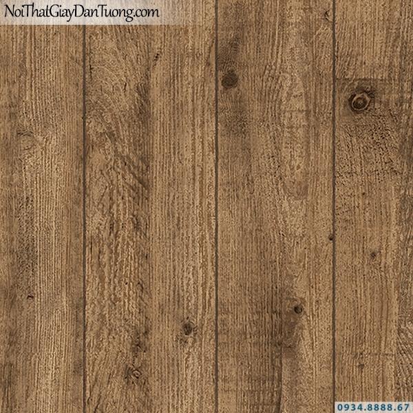 Giấy dán tường giả gỗ màu vàng đẹp, nhiều tấm gỗ ghép vào nhau | 3D | Hàn Quốc | Stone & Natural 85084-3