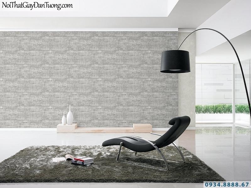 Giấy dán tường giả màu bê tông đẹp, màu xám | 3D | Hàn Quốc | Stone & Natural 85092-3 - 85090-4