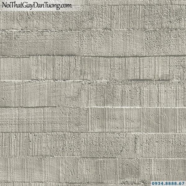 Giấy dán tường màu bê tông xám | 3D | Hàn Quốc | Stone & Natural 85092-2